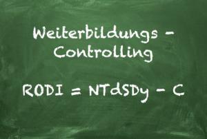 Weiterbildungs-Controlling