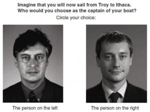 Abb. 3: Bilder von Politikern aus der Studie von Antonakis und Dalgas (2009)