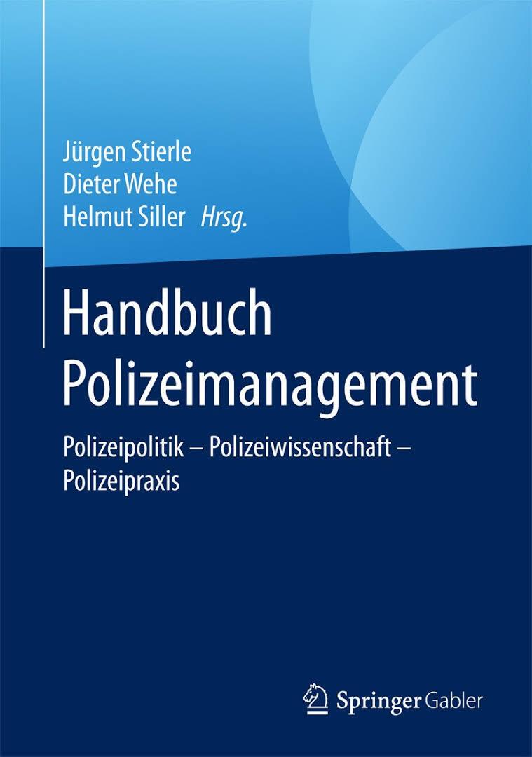Neuerscheinung: Handbuch Polizeimanagement